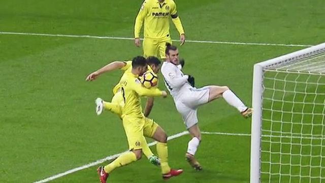 LALIGA | Real Madrid - Villarreal (0-1): El penalti que reclamó Gareth Bale