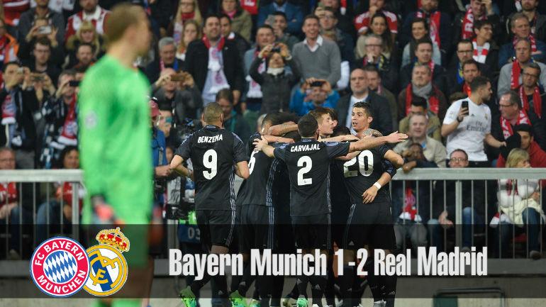 Las mejores imágenes del Bayern - Real Madrid (1-2)