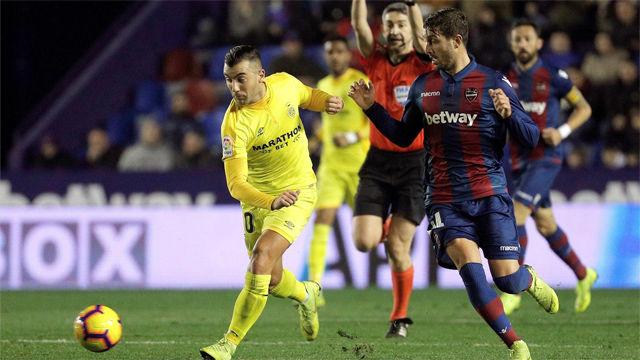 Levante y Girona empatan en el regreso tras la Navidad