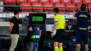 Los árbitros han suspendido su concentración