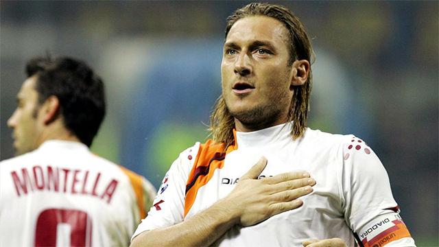 Los diez mejores goles y las diez mejores asistencias de Totti