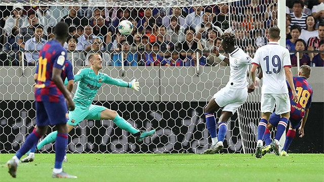 Los goles del discreto debut del nuevo Barça