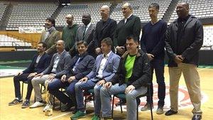 Los jugadores que hicieron historia se reunieron de nuevo en Badalona