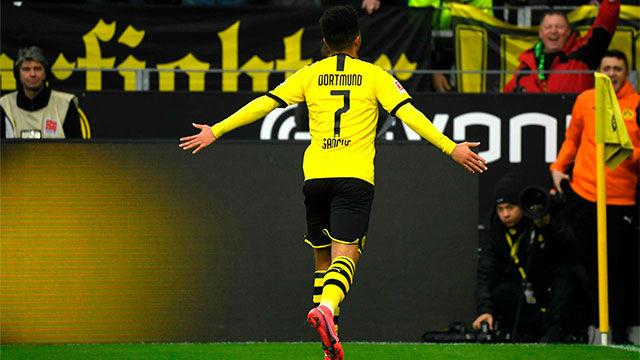 Los mejores momentos de Sancho en el Dortmund