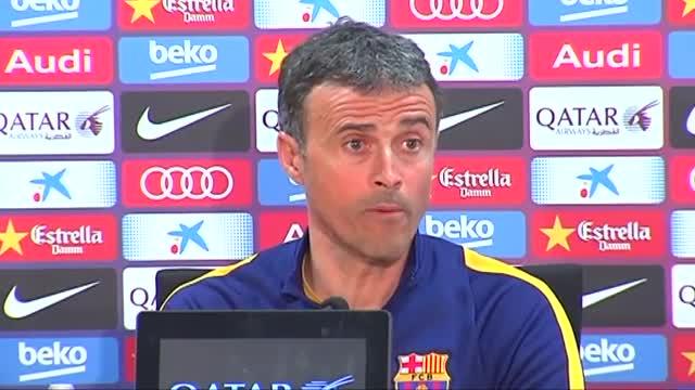 Luis Enrique: Me centro solo en ganar al Sporting de Gijón