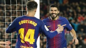 Luis Suárez respalda a su compañero Coutinho en su mala racha deportiva   Daily Express