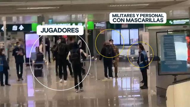 El Madrid de baloncesto, completamente solo en el aeropuerto y el hotel de Milán por el coronavirus