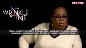 El mensaje de Oprah Winfrey para Messi