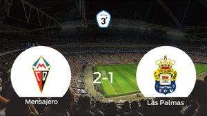 El Mensajero gana 2-1 en su estadio frente al Las Palmas C