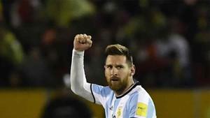 Messi envió un mensaje a sus seguidores