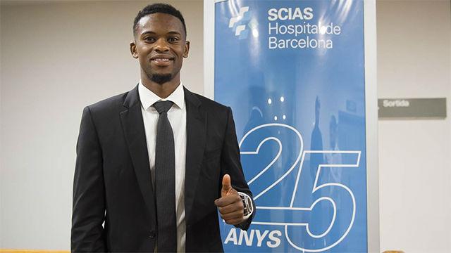 Nelson Semedo ya está en Barcelona