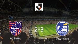 El Oita Trinita se lleva la victoria tras vencer 2-3 al FC Tokyo