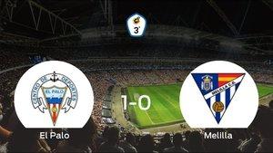 El Palo gana por la mínima al Melilla CD (1-0)