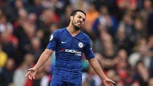 Pedro Rodríguez solo ha jugado tres partidos en la era Lampard