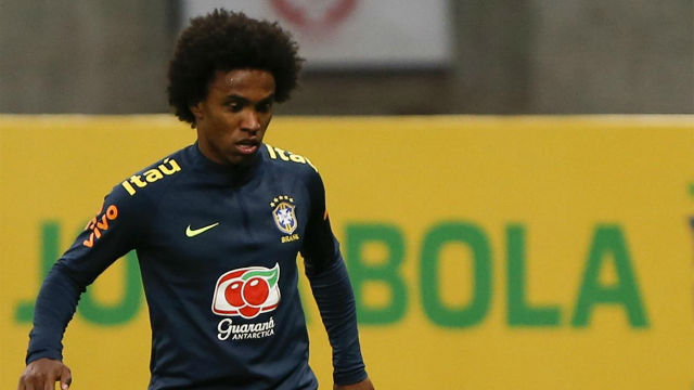 Chelsea 'reject £35m bids from Barcelona and Atletico Madrid' for Willian