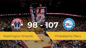 Philadelphia 76ers consigue la victoria frente a Washington Wizards por 98-107