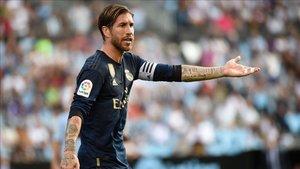 Ramos se sinceró sobre la roja a Modric