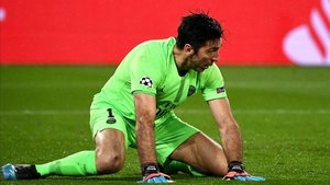El rendimiento de Buffon ha sido muy irregular