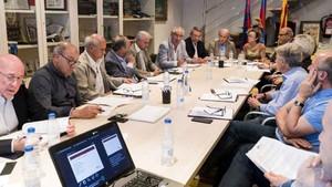 Reunión del Patronato de la Fundación Barça Veterans