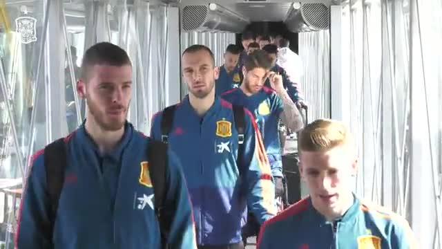 La Roja ya está en Valencia para disputar el partido ante Noruega