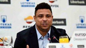 Ronaldo es el presidente del Valladolid