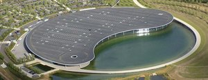La sede de McLaren en Woking