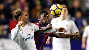 Sergio Ramos abrió el marcador... y Boateng lo empató antes del descanso