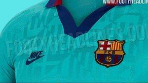 La tercera equipación del Barça 2019 / 2020 saldrá pronto a la venta