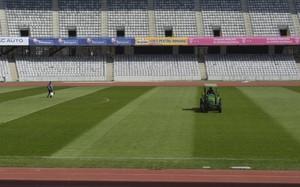Trabajos en el Cluj Arena