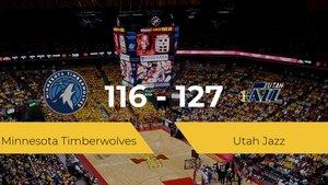 Utah Jazz se hace con la victoria en el Target Center contra Minnesota Timberwolves por 116-127