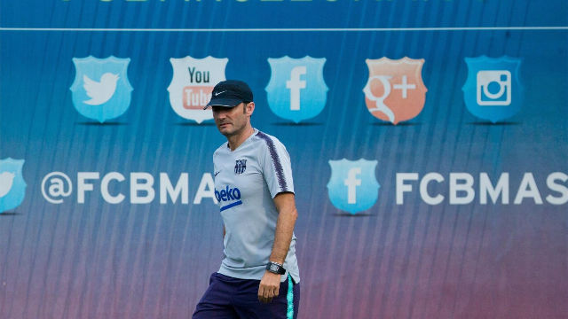 Valverde perfila este once para la Supercopa ante el Sevilla