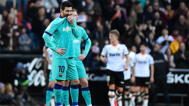 Vea las notas de los jugadores del Barça ante el Valencia