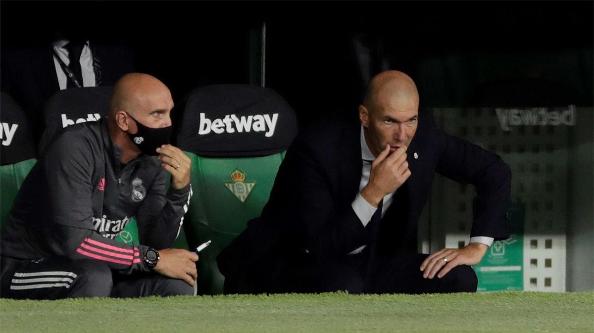 Zidane: El árbitro ha pitado justo lo que ha pasado, es el que manda