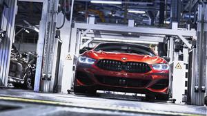 Nuevo BMW Serie 8 en la planta de Dingolfing.