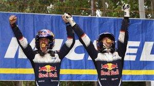 Sebastián Ogier se proclamó campeón del mundo en Australia