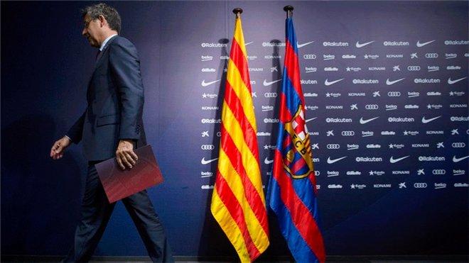 Tambores de dimisiones en el Barça