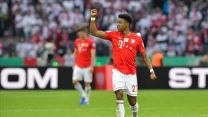 Alaba, de pretemporada en el Bayern