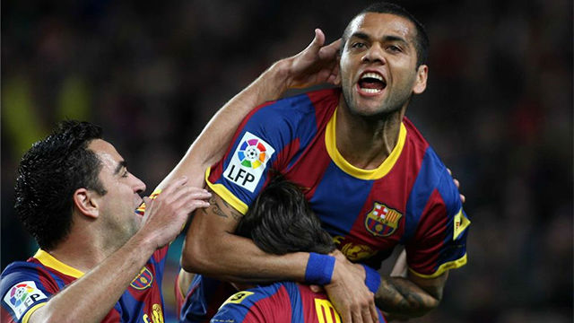 Alves confiesa su jugador ideal del Barça de Guardiola