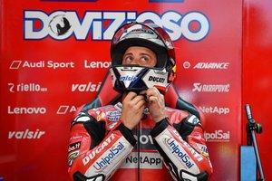 Andrea Dovizioso no tira la toalla en el Mundial