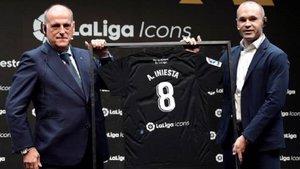 Andrés Iniesta, nuevo miembro de LaLiga Icons | Instagram