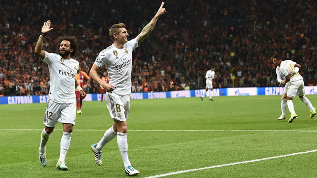 Así narró la radio el gol de Kroos ante el Galatasaray