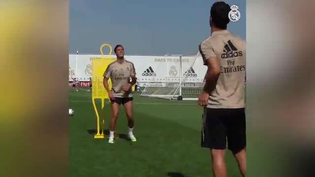 Así se prepara Lucas Vázquez para el regreso de la Liga