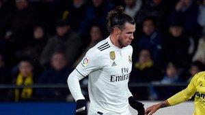 Bale ha sido sustituido en el descanso del partido por problemas físicos