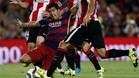 El Barça se dejó la Supercopa en San Mamés, no en el Camp Nou, donde el equipo fue superior al Athletic