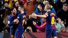 El Barça no dio opción al Levante