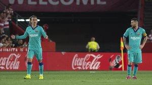 El Barça naufragó en Granada