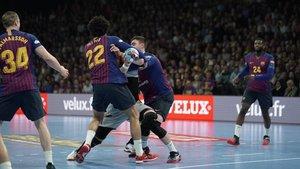 El Barça trabajó mucho en defensa en Nantes
