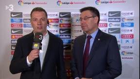 Bartomeu analizó la actualidad del Barça en Esport3