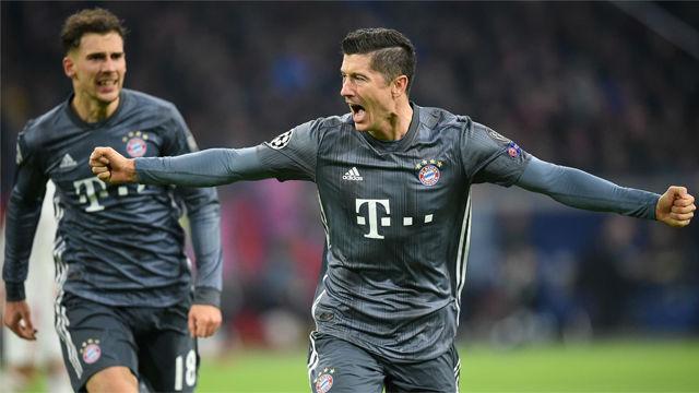 El Bayern empata con el Ajax y se asegura el liderato