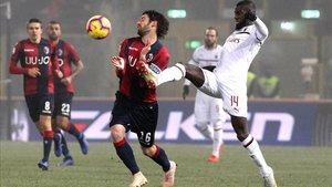Bolonia y Milan cuajaron un partido soporífero